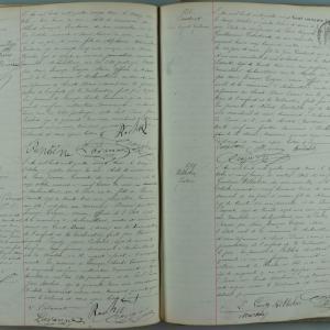 Registre des naissances ©Archives départementales de la Seine-Saint-Denis