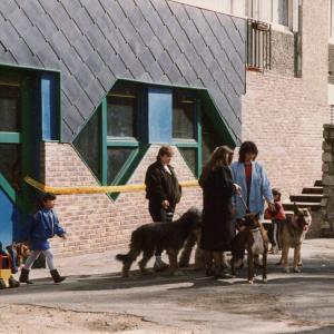Extérieurs de la cité des 800 ©Archives de la Ville d'Aubervilliers