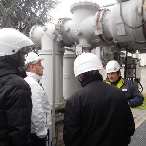 Le Bateau - Visite technique du poste source Enedis à Fontenay