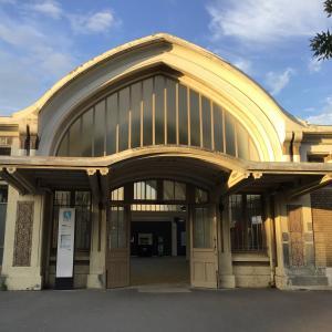gare de Pont Cardinet récemment réhabilitée par la SNCF