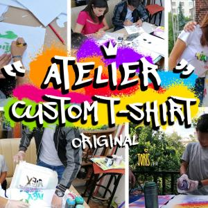 """Atelier de """"custom art"""" - Journées du patrimoine 2021"""