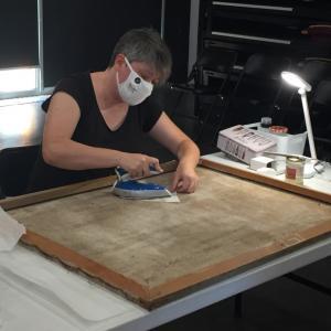 Atelier de restauration de tableaux -  Journées du patrimoine
