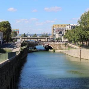 Croisière Le canal Saint-Denis : histoire et lieux culturels au départ du Parc de la Villette