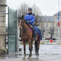 Les coulisses de la Garde Républicaine à Vincennes