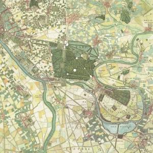Les dessous d'une carte, l'Est parisien vus par l'abbé Delagrive