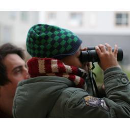 Atelier observation des oiseaux au Barboteur à Bobigny