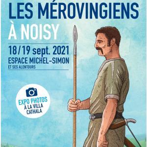 Les mérovingiens à Noisy le Grand, cycle de conférences - Journées du patrimoine 2021