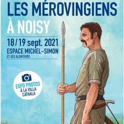 Les mérovingiens à Noisy le Grand, cycle de conférences - Journées du patrimoine
