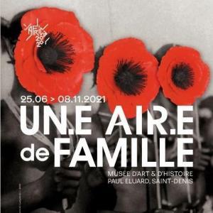 Visite-lecture de l'exposition Un.e Air.e de famille