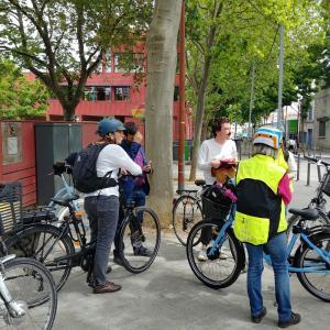 Inauguration parcours vélo patrimoine à Saint-Ouen - Journées du patrimoine