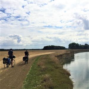 Croisière-rencontre : Récit d'une remontée de la Marne à vélo