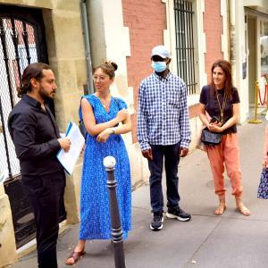 Lettres Persanes au XXIe siècle, balade urbaine - Journées du Patrimoine
