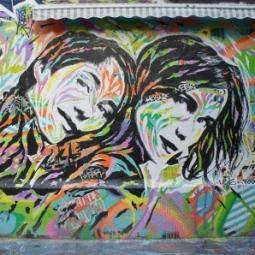 Visite street art autour de la Bibliothèque François Mitterrand, le quartier des Frigos de Paris