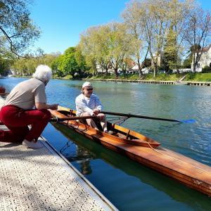 L'atelier de restauration de bateaux Marne & Canotage