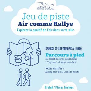 Jeu de piste Air comme Rallye - Aulnay-sous-Bois/Le Blanc-Mesnil