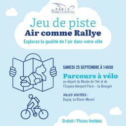 Jeu de piste Air comme Rallye - Dugny/Le Blanc-Mesnil