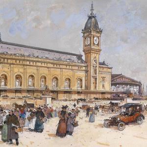 Jeu de piste : enquête à la Gare de Lyon © Eugène Galien Laloue