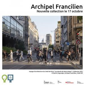 Les abords de Notre-Dame de Paris - Archipel francilien
