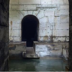Visite souterraine de l'aqueduc Médicis à Rungis © Myrabella