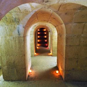 Visite souterraine de l'aqueduc Médicis à Rungis