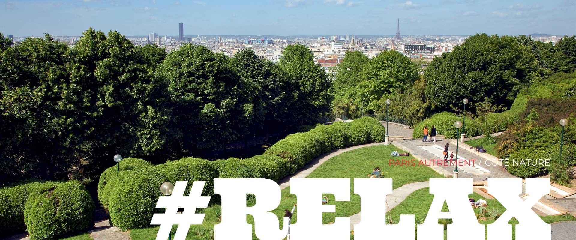 Espaces verts et activités en extérieur à Paris